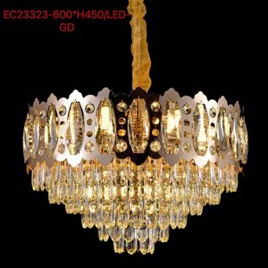 EC23323-600XH450/LED GD CHANDELIER [LM-CD-003]