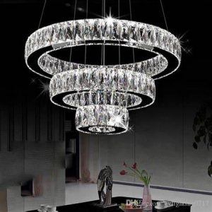 Silver Chandelier Lighting LM-CD-001