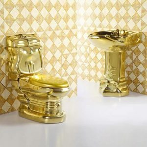 Executive Gold WC Set [LM-WC-003]