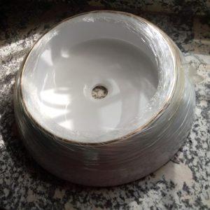 Round Ceramic Wash Hand Basin [LM-BS-007]
